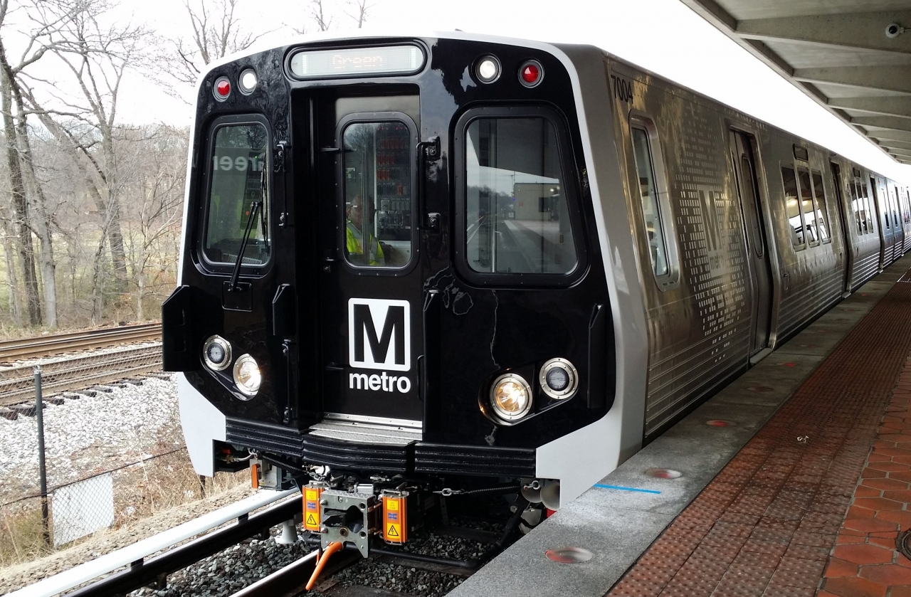 Photo of Metro rail car