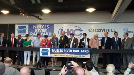 Opening of the Nueces River Railyard
