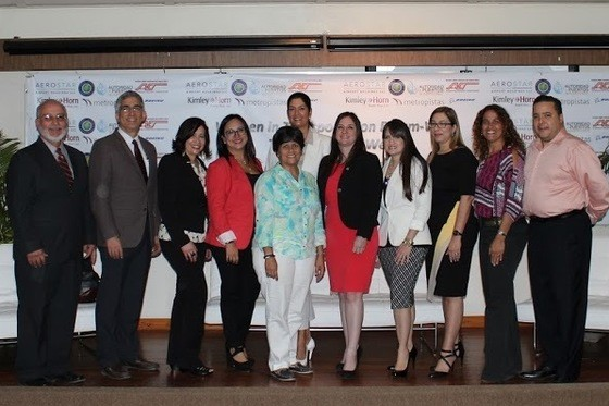 Women In Transportation Forum participants and WITI staff after a panel discussion