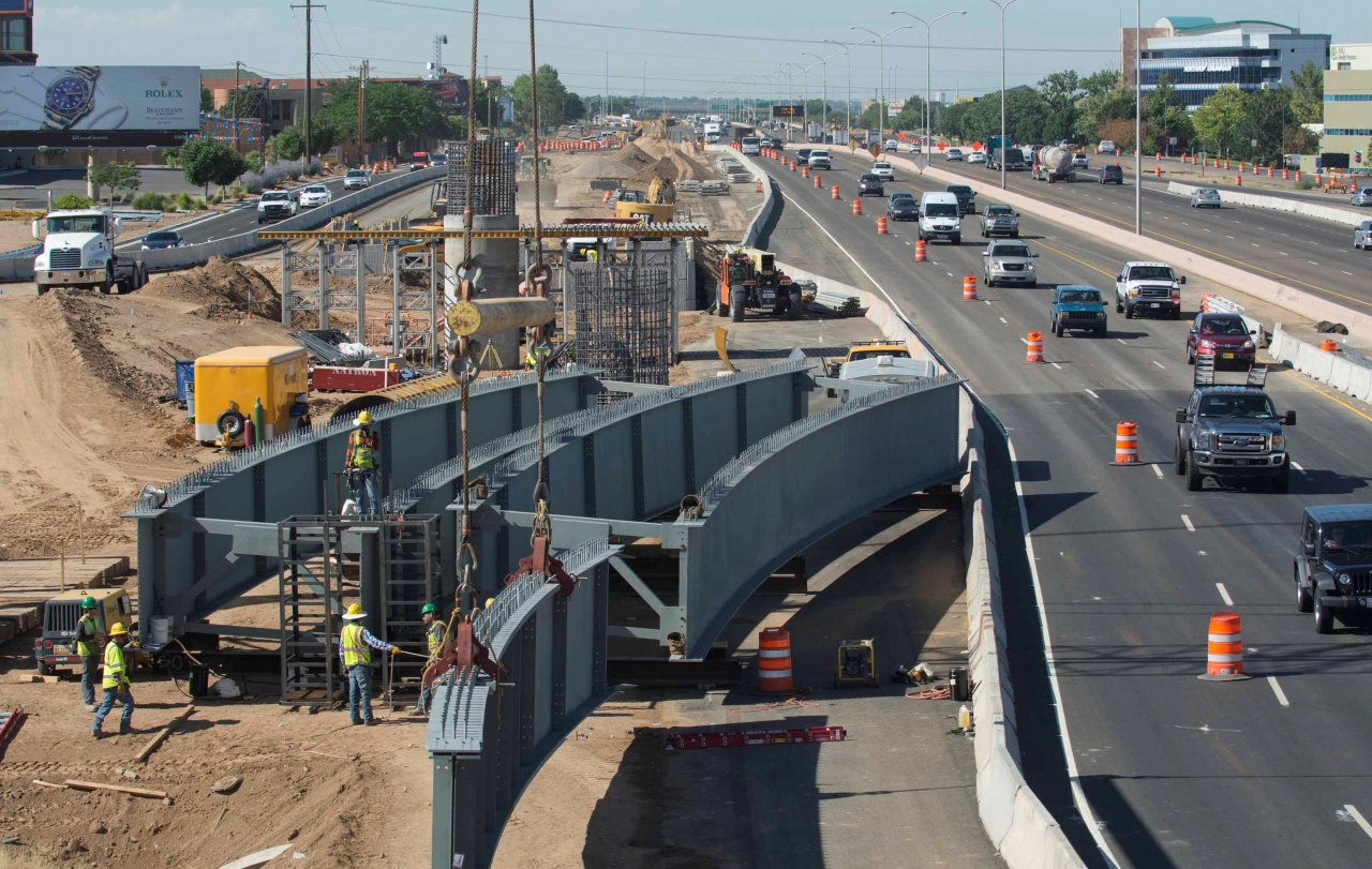 Photo of work on Paseo-I25
