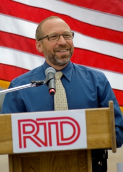 Photo of F.T.A. Administrator Peter Rogoff