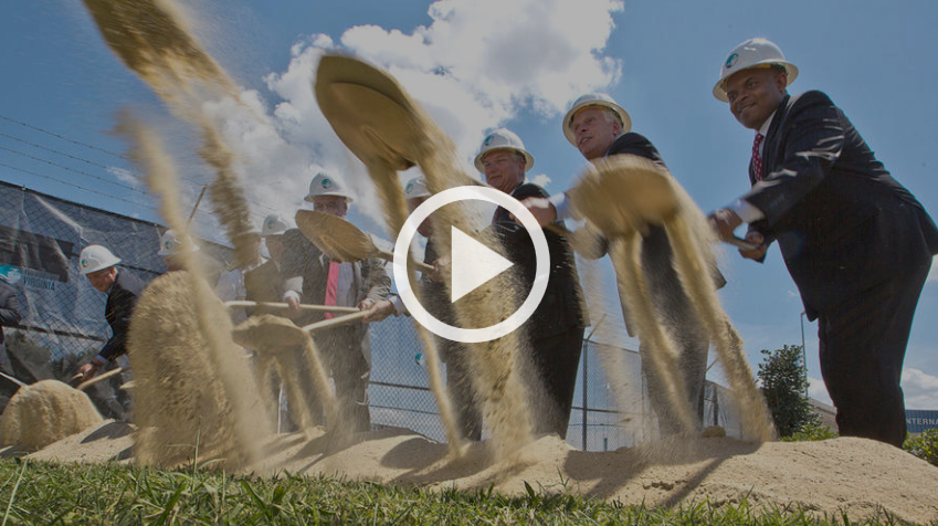 Port of Virginia groundbreaking