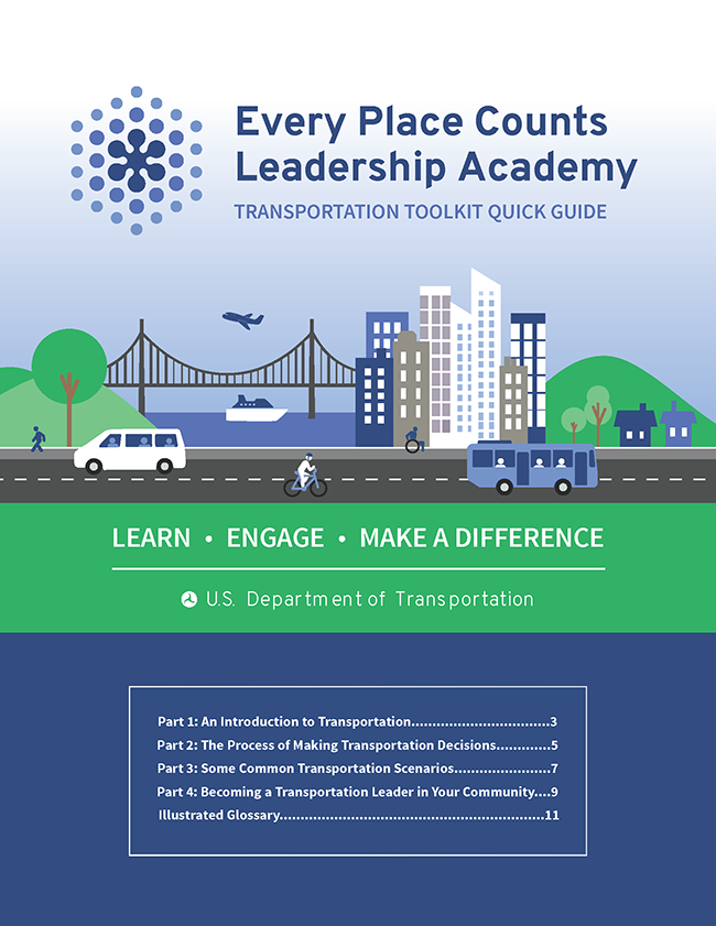 Transportation Leadership Academy Quick Start Guide Cover