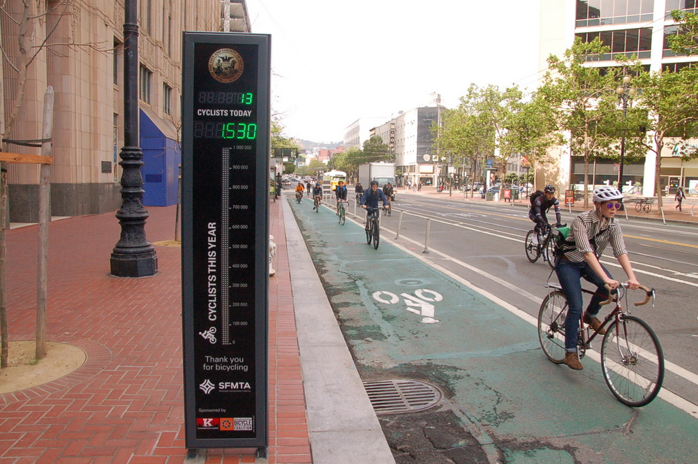 Why Bike Lanes With Lots Of Bike Traffic Can Still Appear