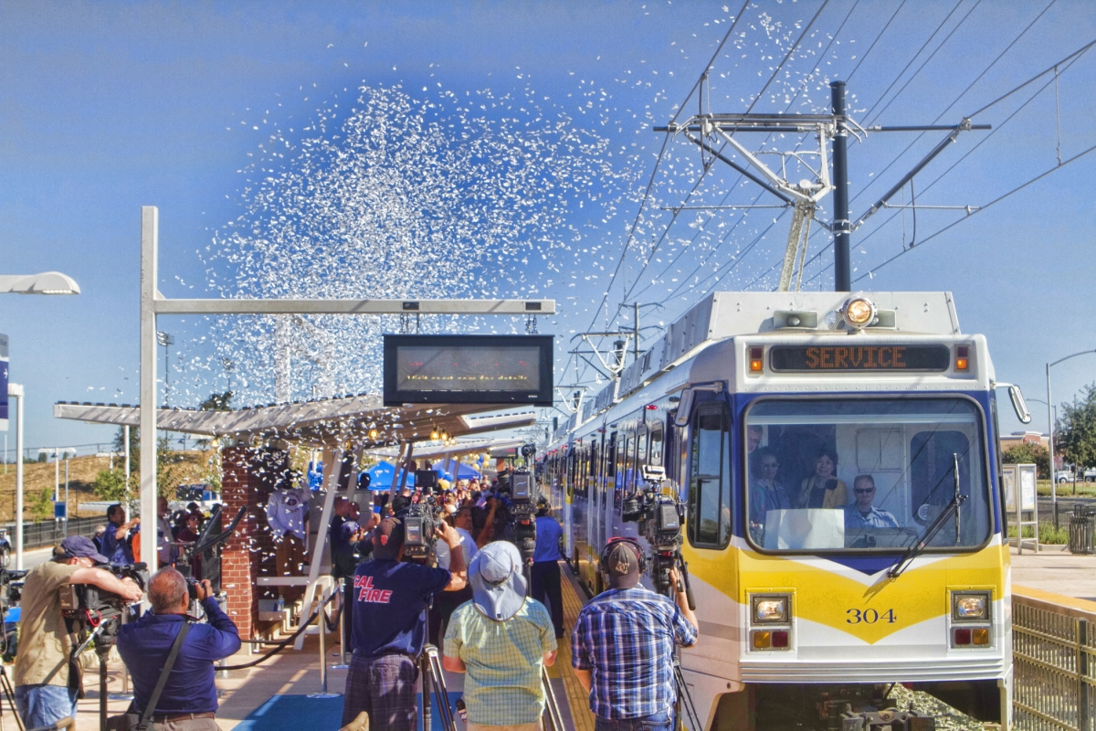Sacramento celebrates Blue LIne extension