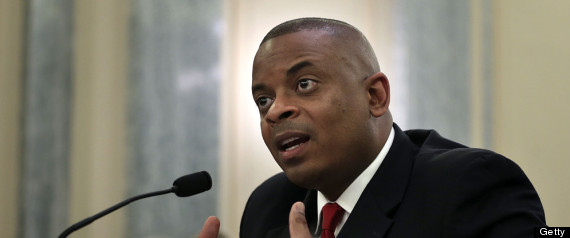 Photo of Secretary Foxx testifying on Capitol Hill, photo courtesy of Getty Images