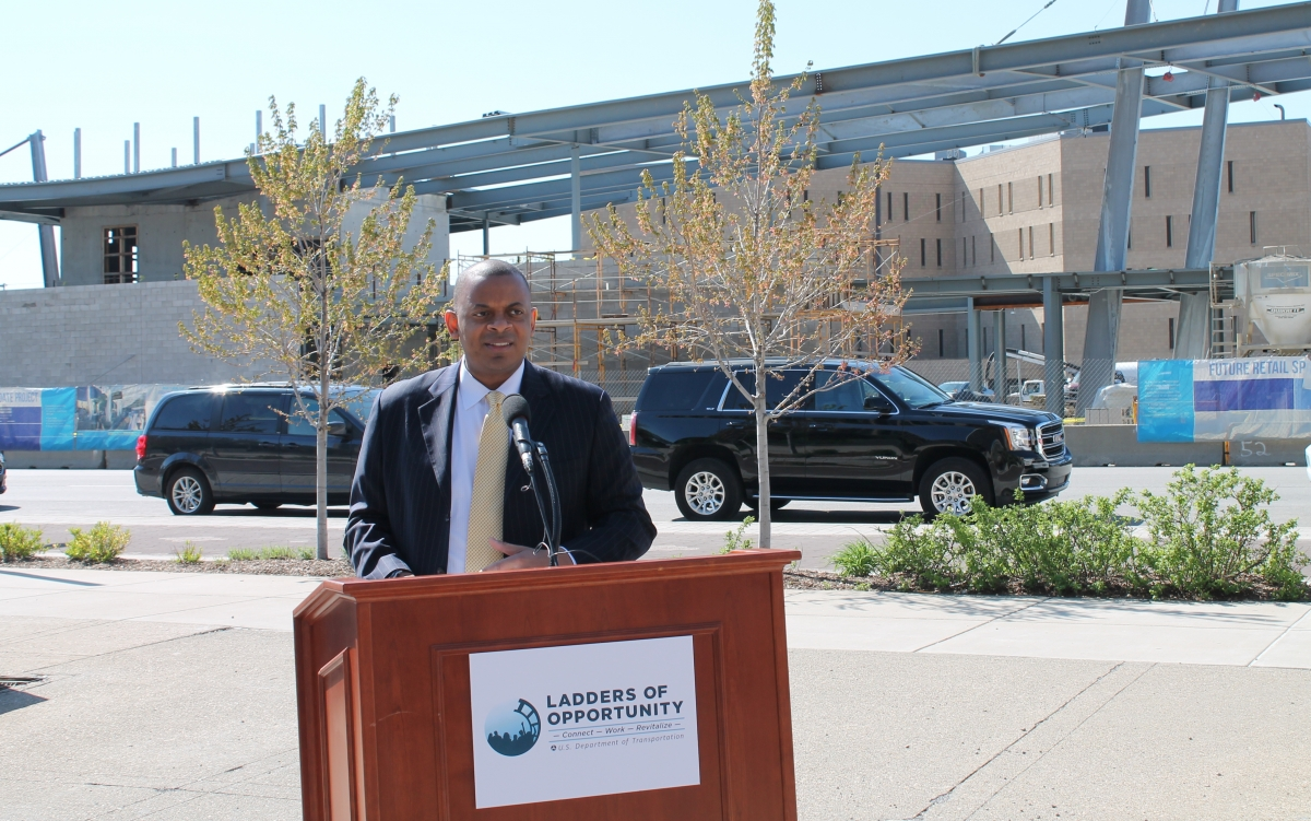Secretary Foxx announces LadderStep in Indianapolis
