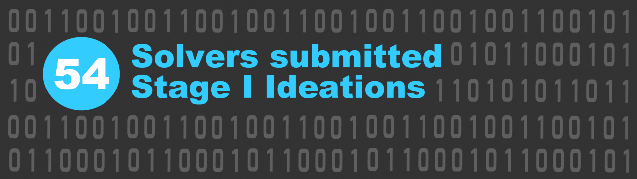 54 Solvers Submitted Stage I Ideations