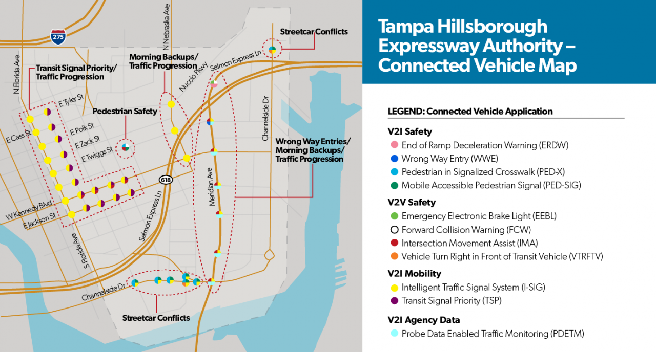 Connected Vehicle Pilot Deployments Solving Tampas Complex