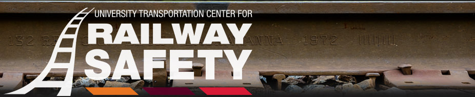 Web banner from the U.T.P.A. rail safety program