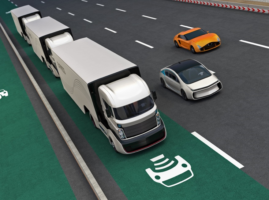 Autonomous Vehicles on road