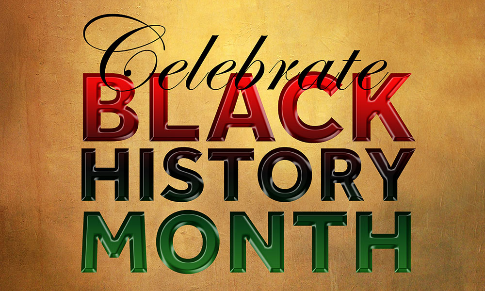 Celebrate Black History Month banner