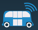 image of bus with wifi signal logo