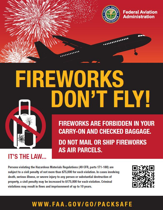 Fireworks Don't Fly