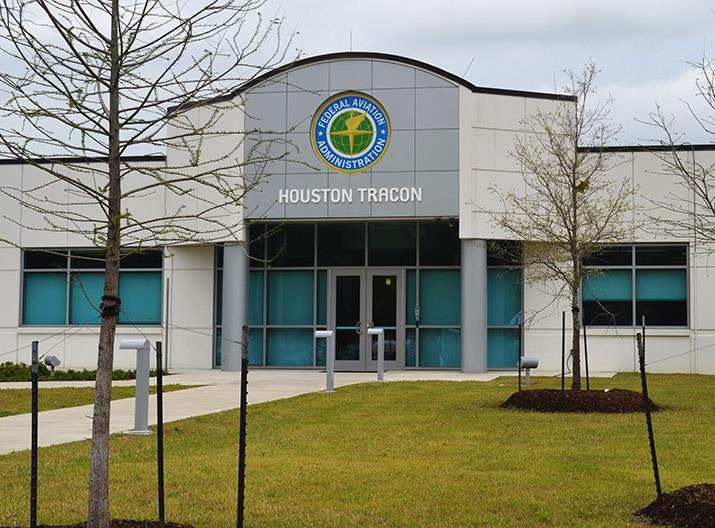 Photo of the front of the new Houston TRACON facility