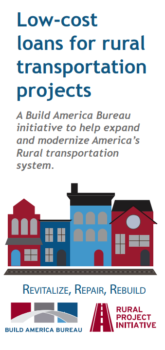 Low-cost loans for rural transportation projects