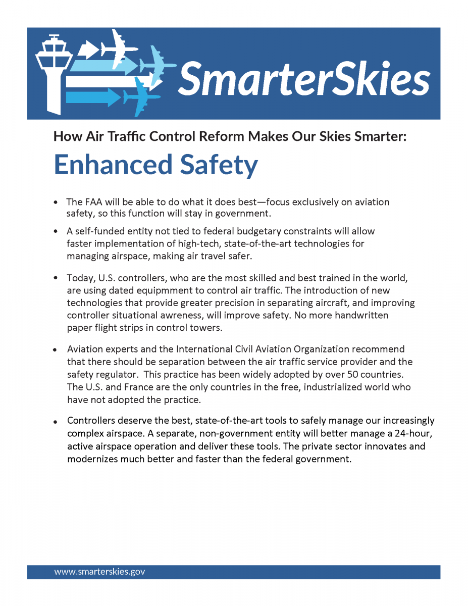Screenshot of the Safety fact sheet