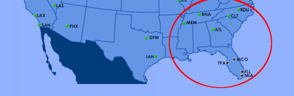 Faa Offers Interactive Airport Status Map Us Department Of - Map-us-airports