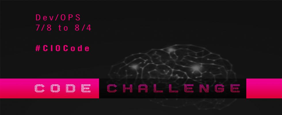 CIO Code Challenge # 3 Banner