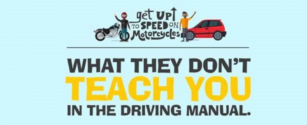 Get Up to Speed on Motorcycles Safety Ad