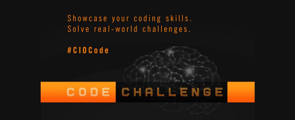 CIO Code Challenge Banner