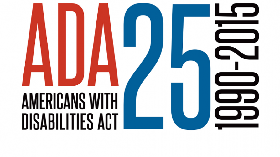 A.D.A. 25th anniversary logo