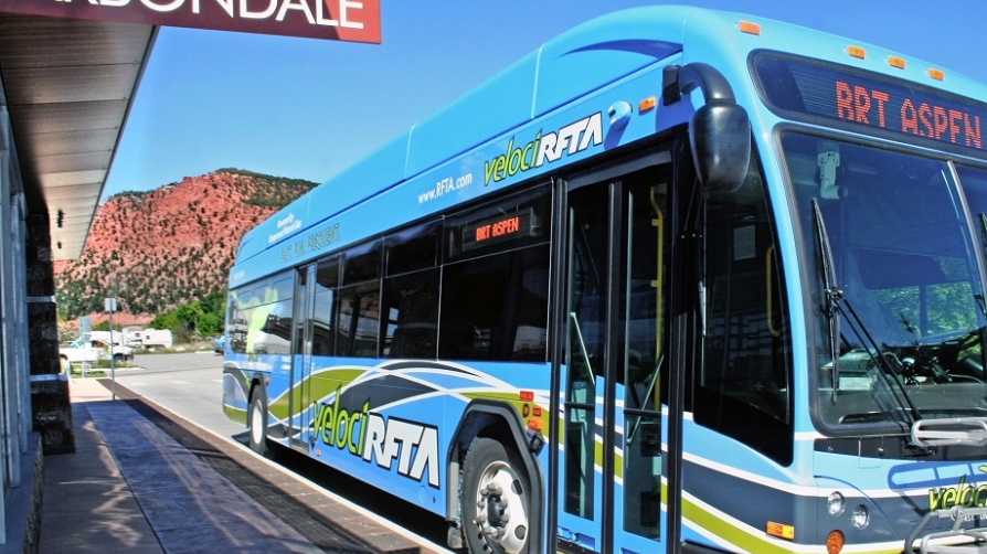 VelociRFTA Rapid Transit Bus