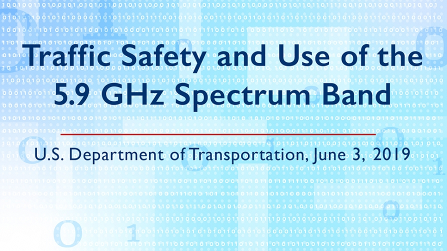 Traffic Safety and  Use of the 5.9 GHz Band