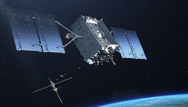 Picture of GPS III Satellite
