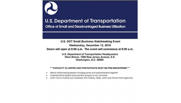 US DOT Small Business Matchmaking Event