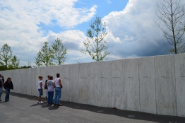 Flight 93 National Memorial Wall of Names