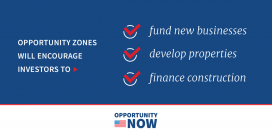Opportunity Zone logo from White House twitter