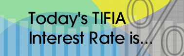 Today's TIFIA Interest Rate is...