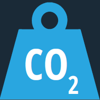 weight image with CO2 text